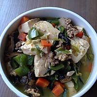 #菁选酱油试用#肉末杂蔬炖豆腐的做法图解15