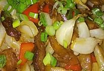 蒜瓣炒肉的做法