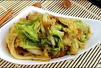 素炒大白菜的做法