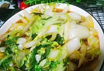 水白菜(水油焖煮)