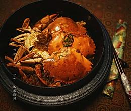 肉蟹粉丝煲——附青蟹拆解方法的做法