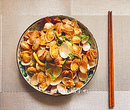 #合理膳食 营养健康进家庭#下酒菜辣炒花蛤的做法