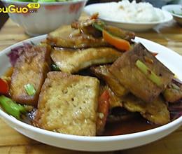 二面黄(豆腐)的做法