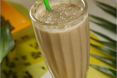 绿豆沙牛奶