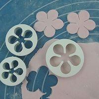 换个方式做翻糖花---翻糖蛋糕(七)---桃花盛开的做法图解34