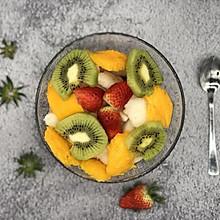 我的拿手菜-酸奶水果捞
