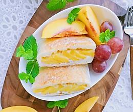 酸奶黄桃三明治的做法