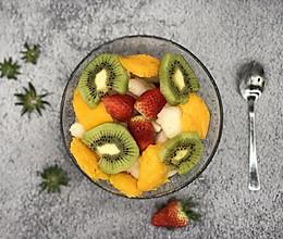 我的拿手菜-酸奶水果捞的做法
