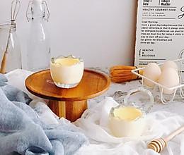 蛋壳布丁的做法