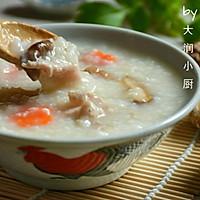 快手鸡丝香菇粥#急速早餐#的做法图解9