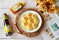 虾滑酿冬瓜 太太乐鲜鸡汁蒸鸡原汤的做法