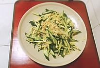 凉拌黄瓜金针菇的做法