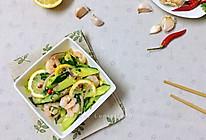 #夏日撩人滋味#百香果柠檬凉拌虾仁黄瓜的做法