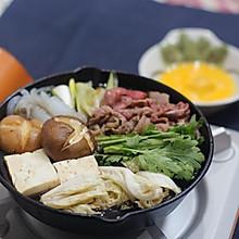日式牛肉火锅-寿喜烧