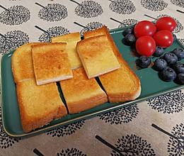 #营养小食光#奶香蜂蜜烤吐司的做法