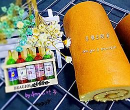 蓝莓酱蛋糕卷+#豆果5周年#的做法