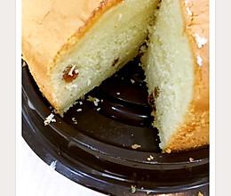 淡奶油蛋糕(为了处理裱花剩下的淡奶油)的做法
