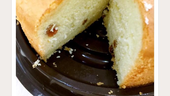 淡奶油蛋糕(为了处理裱花剩下的淡奶油)