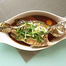 清蒸桂鱼(反复尝试后的饭店水平)