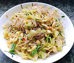 家常菜→_→白菜豆芽炒粉条的做法