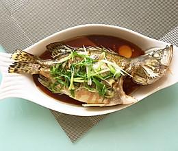 清蒸桂鱼(反复尝试后的饭店水平)的做法