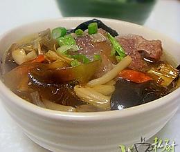 黄花海带牛尾汤的做法