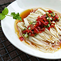 热拌金针菇#安佳幸福家常菜#的做法图解14