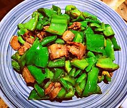 家常超下饭:青椒炒肉片的做法