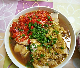 超级简单的剁椒蒸鱼的做法