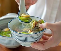 #秋天怎么吃#苦瓜蛤蜊清火汤|鲜甜清爽的做法