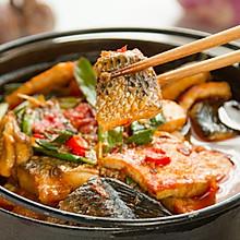番茄豆腐焖鱼