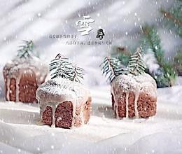 圣诞可可小蛋糕的做法