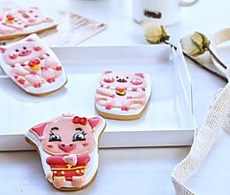 福气猪糖霜饼干的做法
