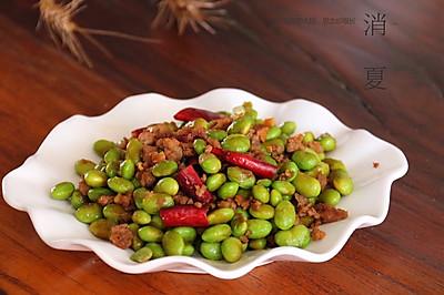 超级下饭菜-毛豆炒肉末