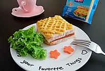 玉米火腿三明治#百吉福食尚达人#的做法