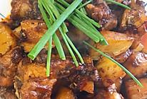 秘制红烧土豆排骨的做法