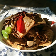 茶树菇豆腐
