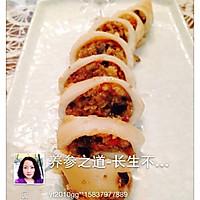 把爱和美食圈起来--海参糯米鱿鱼圈的做法图解7