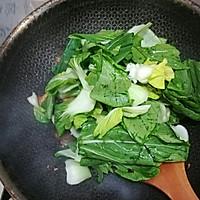 香菇油菜炒豆腐#花10分钟,做一道菜!#的做法图解9