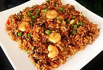 #夏日撩人滋味#虾仁肉松海苔炒饭#这一碗太销魂的做法