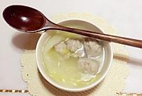 白菜肉丸汤的做法