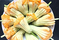 水豆腐酿南瓜花的做法