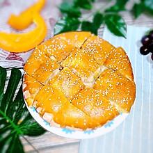 #做道懒人菜,轻松享假期#香蕉芝士饼