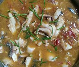 西红柿草鱼片的做法