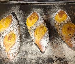 南瓜乳酪包的做法