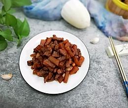 梅头肉烧萝卜的做法