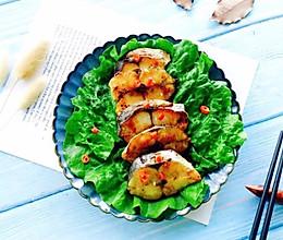 #春季减肥,边吃边瘦#香煎马鲛鱼的做法