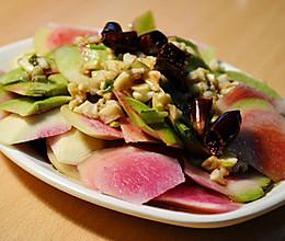 凉拌萝卜皮——爽口开胃小凉菜的做法