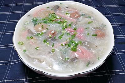 平菇丸子汤,既是月子餐,还是低卡减肥餐