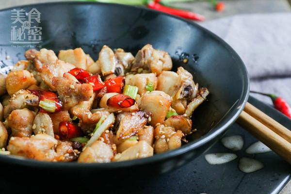川香辣子鸡#我要上首页下饭家常菜#的做法